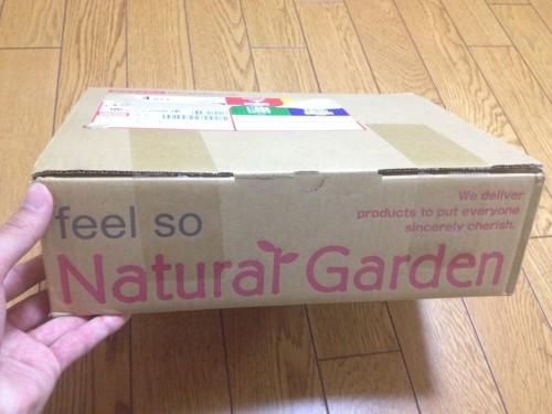 ナタデウォッシュの箱
